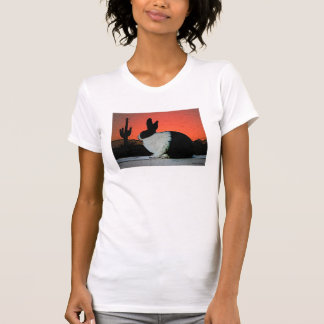 Camiseta holandesa de la puesta del sol playeras