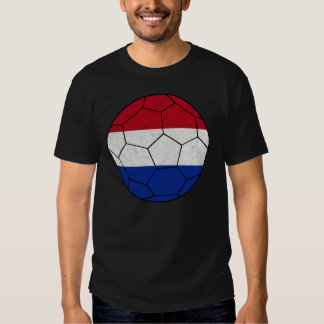 Camiseta holandesa del fútbol playeras