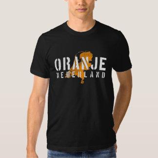 Camiseta holandesa del mapa remera