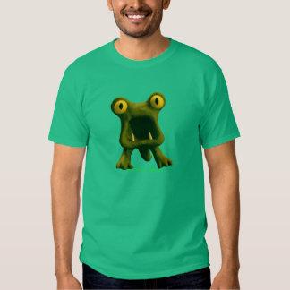 Camiseta horrible del monstruo poleras