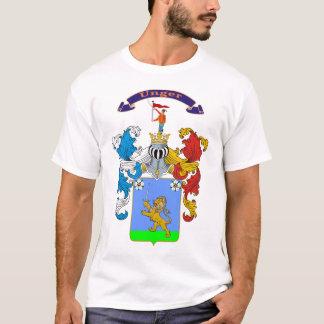 Camiseta húngara del escudo de armas de la familia