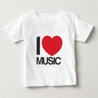 Camiseta I love music bebe T-shirt