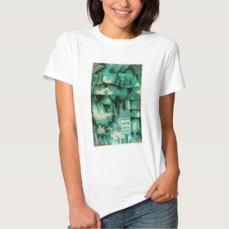 Camiseta ideal de la ciudad de Paul Klee Playera