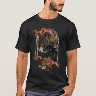 Camiseta ideal de los caballos