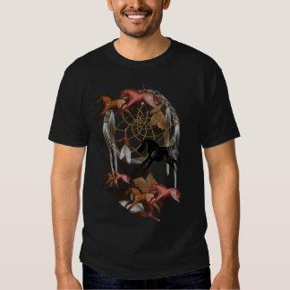 Camiseta ideal de los caballos playeras