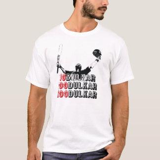 Camiseta impresa dulkar de Sachin 10