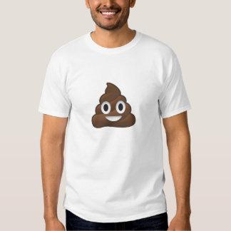 Camiseta impresionante de Emoji Poo Poleras
