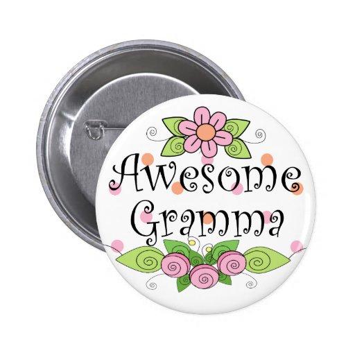 Camiseta impresionante de Gramma Pin