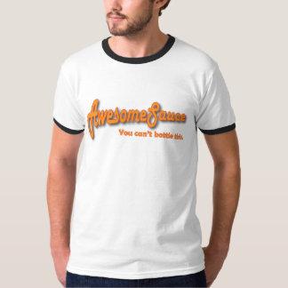 Camiseta impresionante de la salsa playeras