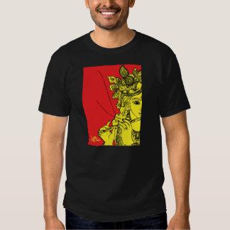Camiseta impresionante de señor Krishna Playeras