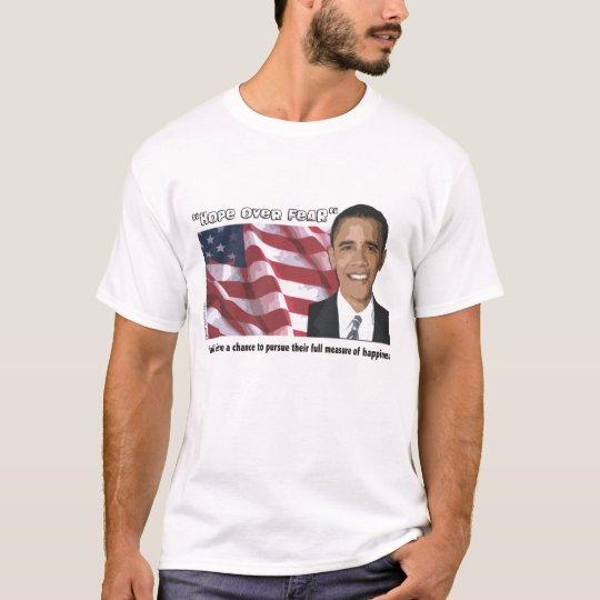 Camiseta inaugural de la cita de Obama