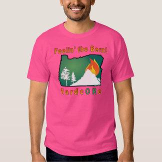 Camiseta incondicional del color polera