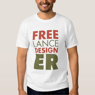 Camiseta independiente del diseñador camisas