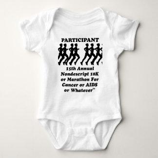 Camiseta indescriptible del maratón 10K del