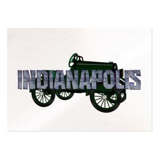 CAMISETA Indianapolis Plantillas De Tarjetas De Visita