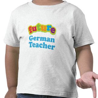Camiseta infantil alemana del bebé del profesor f