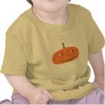 Camiseta infantil amarilla de Halloween con la cal