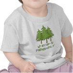 Camiseta infantil amistosa de Eco