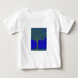 Camiseta infantil con el ejemplo del árbol y del remeras