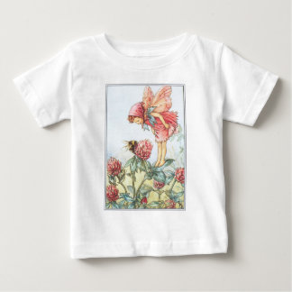 Camiseta infantil de hadas del niño del trébol polera