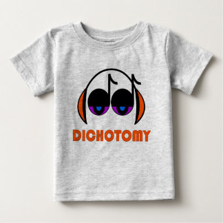 Camiseta infantil de la dicotomía playera