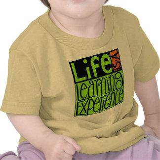 Camiseta infantil de la enredadera de la experienc