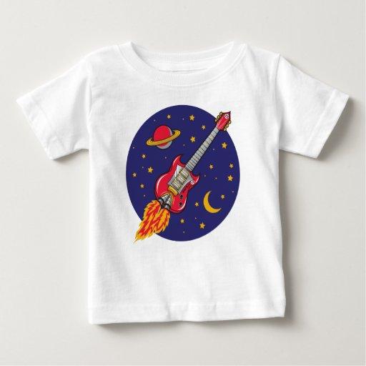 Camiseta infantil de la guitarra de Rockit