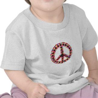 camiseta infantil de la paz 5-Color