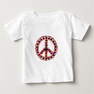 camiseta infantil de la paz 5-Color Poleras