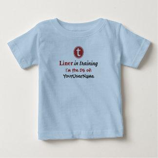 Camiseta infantil de las líneas muchachos