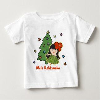 """Camiseta infantil de Navidad del chica de Hula de Playeras"