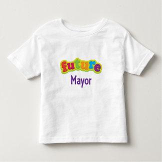 Camiseta infantil del alcalde (futuro) bebé