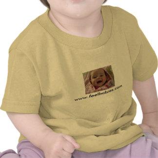 Camiseta infantil del bebé amarillo