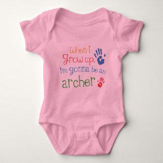 Camiseta infantil del bebé de Archer (futuro)