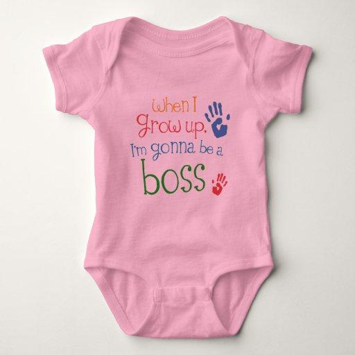 Camiseta infantil del bebé de Boss (futuro)