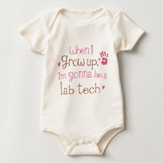 Camiseta infantil del bebé de la tecnología del mameluco