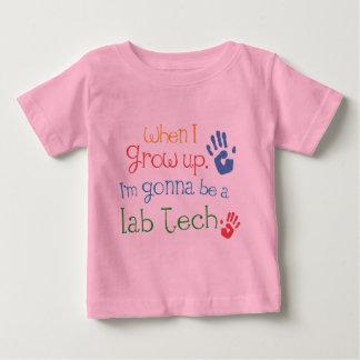 Camiseta infantil del bebé de la tecnología del playera