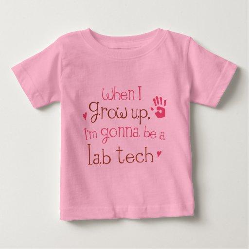 Camiseta infantil del bebé de la tecnología del playeras