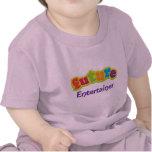 Camiseta infantil del bebé del actor (futuro)