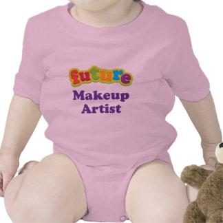 Camiseta infantil del bebé del artista de