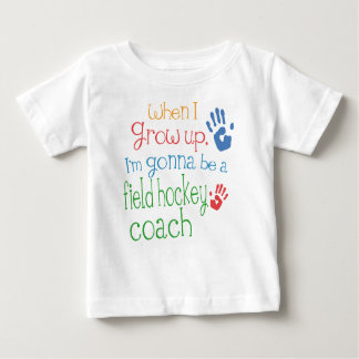 Camiseta infantil del bebé del coche de hockey playera