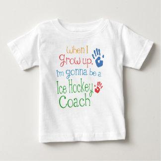 Camiseta infantil del bebé del coche del hockey remeras