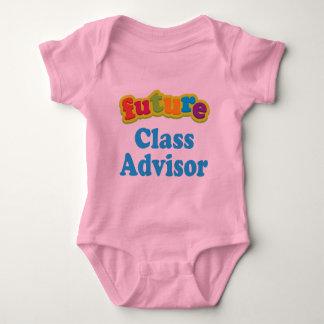 Camiseta infantil del bebé del consejero de la polera