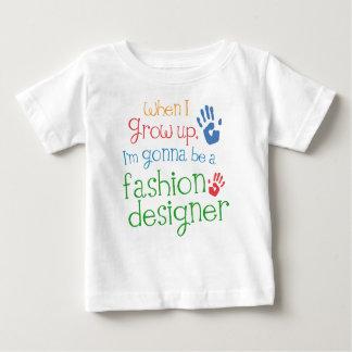 Camiseta infantil del bebé del diseñador de moda