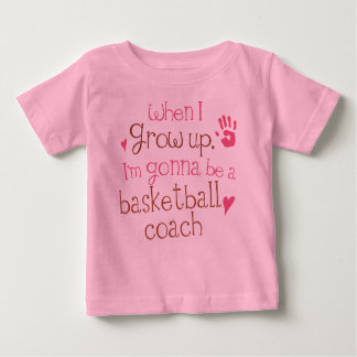 Camiseta infantil del bebé del entrenador de