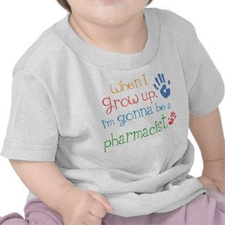 Camiseta infantil del bebé del farmacéutico