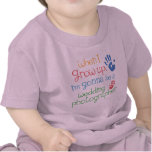 Camiseta infantil del bebé del fotógrafo del boda