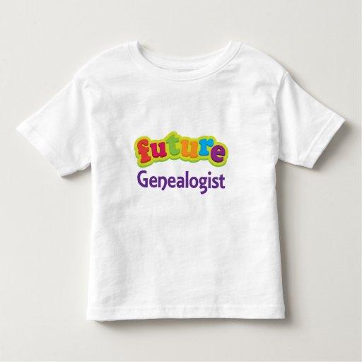 Camiseta infantil del bebé del Genealogist