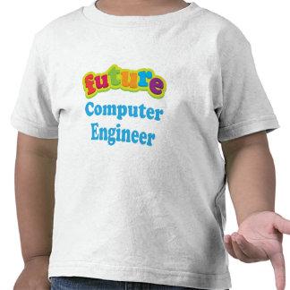 Camiseta infantil del bebé del ingeniero