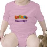 Camiseta infantil del bebé del meteorólogo (futuro